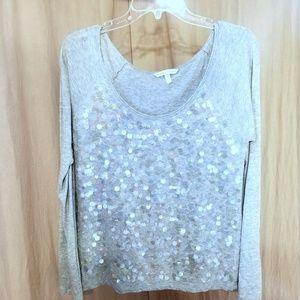 Victoria's secret long sleeve sequin shirt